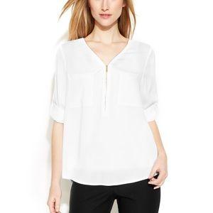 66dd08030d3817 ... Dress NWOT Calvin Klein Long Sleeve Blouse Rue21 Navy Striped ...